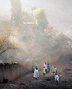 Local people, Lalibela, Ethiopia.