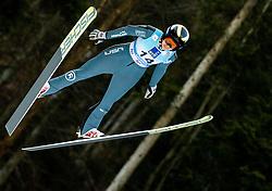 Nita Englund of USA soaring through the air during 1st Round at Day 1 of World Cup Ski Jumping Ladies Ljubno 2019, on February 8, 2019 in Ljubno ob Savinji, Slovenia. Photo by Matic Ritonja / Sportida