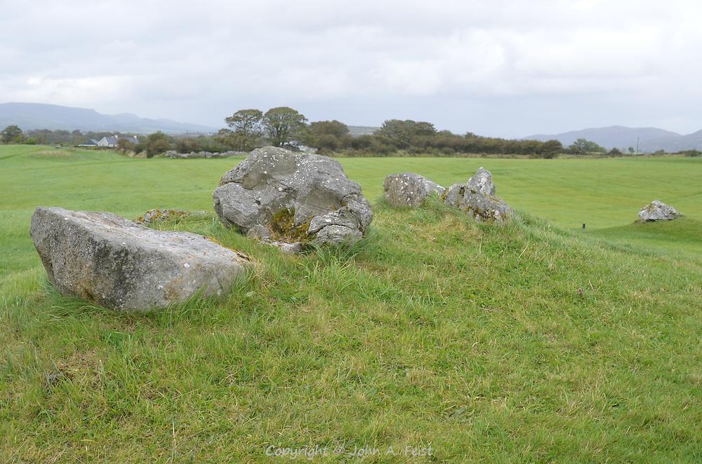 Ancient tombs from the neolithic era.  COunty Sligo, Ireland