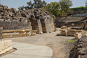 Israel, Bet Shean, Scythopolis, The entrance to the Roman theatre dating from the first century CE.