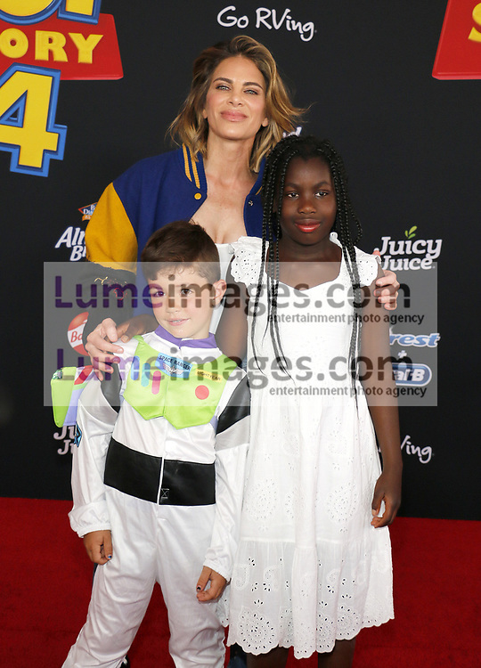 Jillian Michaels at the World premiere of 'Toy Story 4' held at the El Capitan Theater in Hollywood, USA on June 11, 2019.