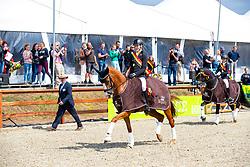 Alexander Goovaerts - Habiba vh Bloemenhof<br /> Flanders Dressage Event - Meerdonk 2019<br /> © Hippo Foto - Leanjo De Koster<br /> Alexander Goovaerts - Habiba vh Bloemenhof