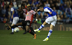 Sheffield Wednesday's David Jones (right) scores their first goal of the game