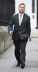 © Licensed to London News Pictures. 23/01/2012. London, UK. ITN head of compliance John Battle, arriving at the Royal Courts of Justice on January 23rd, 2012 where he is due to give evidence at Leveson Inquiry in to press standards. Photo credit : Ben Cawthra/LNP