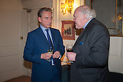 PHILIP MOULD; CHARLES SEBAG-MONTEFIORE, Book launch for The Speedicut Papers, edited by Christopher Joll.- Bucks Club, Clifford St. London W1.