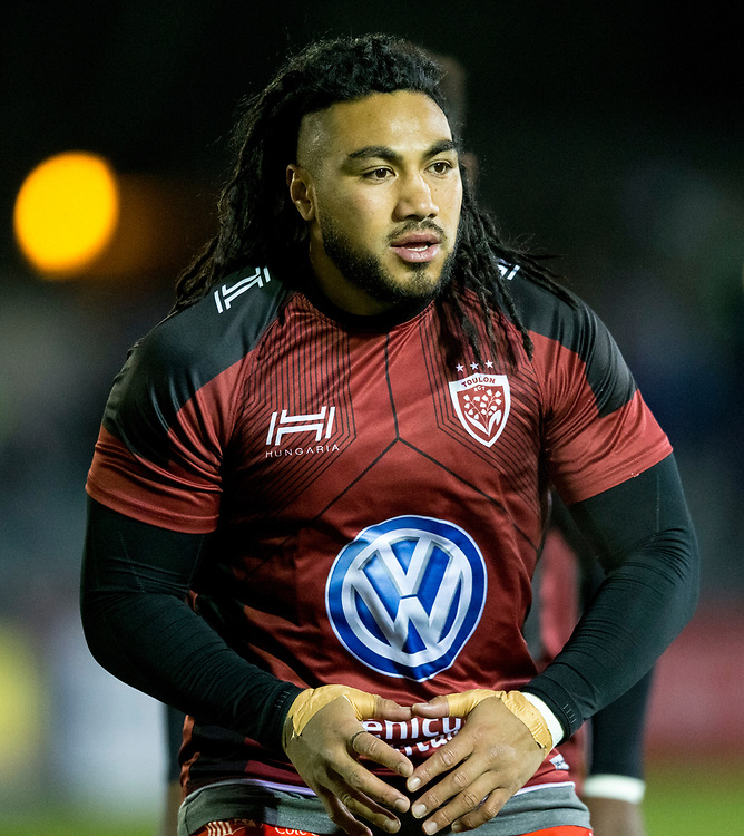 Toulon's Ma'a Nonu during the pre match warm up<br /> <br /> Photographer Bob Bradford/CameraSport<br /> <br /> European Rugby Champions Cup Pool 5 - Bath Rugby v Toulon - Saturday 16th December 2017 - The Recreation Ground - Bath<br /> <br /> World Copyright © 2017 CameraSport. All rights reserved. 43 Linden Ave. Countesthorpe. Leicester. England. LE8 5PG - Tel: +44 (0) 116 277 4147 - admin@camerasport.com - www.camerasport.com