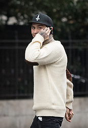 © Licensed to London News Pictures. 08/12/2016. London, UK. Marco Pierre White Jr, age 21, arrives at Westminster Magistrates court. He is expected to be sentenced for making a false representation to borrow and then use his ex-girlfriend Carina Evans' bank card in February 2016. Photo credit : Tom Nicholson/LNP