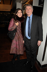 STEPHEN QUINN and KIMBERLEY FORTIER at a dinner in honour of Francisco Costa of Calvin Klein hosted by Vogue at the Fifth Floor restaurant, Harvey Nichols, London on 28th March 2007.<br /><br />NON EXCLUSIVE - WORLD RIGHTS