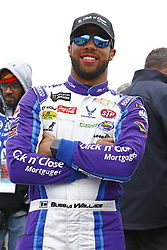 April 8, 2018 - Ft. Worth, Texas, United States of America - April 08, 2018 - Ft. Worth, Texas, USA: Darrell Wallace, Jr (43) hangs out on pit road before racing in the O'Reilly Auto Parts 500 at Texas Motor Speedway in Ft. Worth, Texas. (Credit Image: © Chris Owens Asp Inc/ASP via ZUMA Wire)