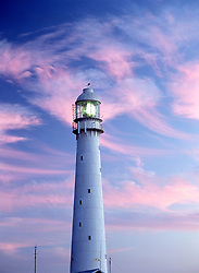Clouds above lighthouse at dusk (Credit Image: © Axiom/ZUMApress.com)