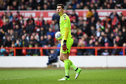 March 9, 2019 - Nottingham, England, United Kingdom - Costel Pantilimon (1) of Nottingham Forest during the Sky Bet Championship match between Nottingham Forest and Hull City at the City Ground, Nottingham on Saturday 9th March 2019. (Credit Image: © Jon Hobley/NurPhoto via ZUMA Press)