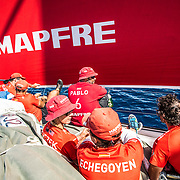 Leg 6 to Auckland, day 21 on board MAPFRE. 27 February, 2018.
