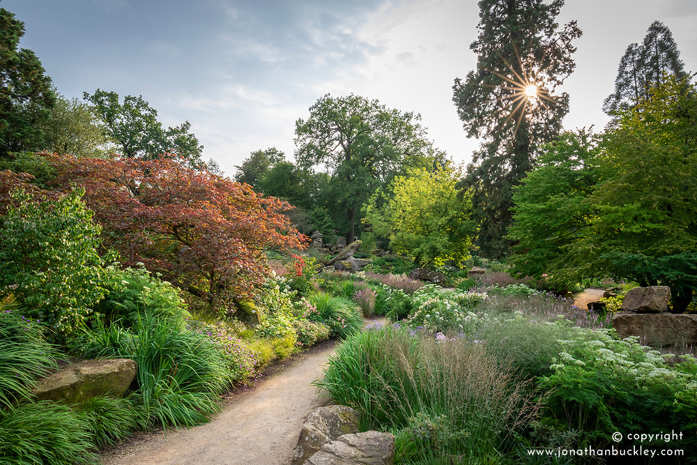 General view of the Rockery at Chatsworth House designed by Tom Stuart-Smith