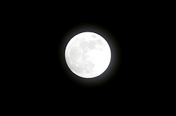 Blue moon over Sheffield United's Stadium,  Bramall Lane