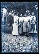 family group portrait France ca 1920s