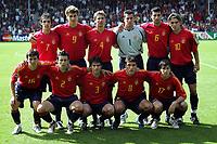 Fotball <br /> FIFA World Youth Championships 2005<br /> Nederland / Holland<br /> 11.06.2005<br /> Foto: ProShots/Digitalsport<br /> <br /> Spania v Marokko<br /> Doetinchem<br /> <br /> Spania