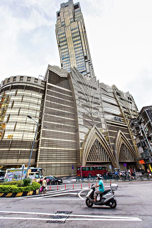 Grand Lisboa Hotel and Casino in Macau.