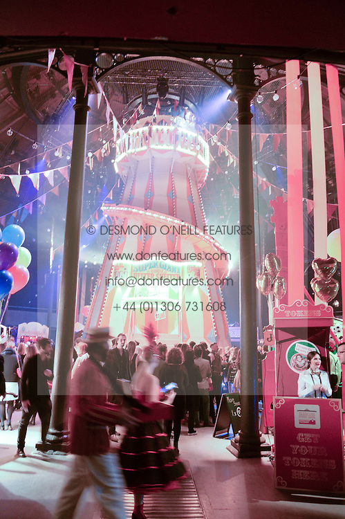 General View at 'The World's First Fabulous Fund Fair' in aid of the Naked Heart Foundation hosted by Natalia Vodianova and Karlie Kloss at The Roundhouse, Chalk Farm Road, London on 24th February 2015.