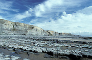 Glamorgan Heritage Coast, Wales, UK, coastline & beach, The heritage coast stretches for 14 miles from West Aberthaw to Porthcawl, and along the way showcases some beautiful low cliffs and dramatic coastal scenery