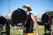 Shadow Armada practice on the last day of the season in Deerfield, Wisconsin on July 13, 2013.