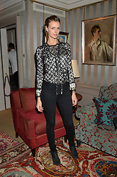 JACQUETTA WHEELER at a ladies lunch hosted by Katie Readman for sisters Lucia & Rosie Ruck Keene founders of a new fashion label - Troy, held at 5 Hertford Street, London on 27th January 2015.