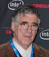 """Elliott Gould as he interviews on the """"red carpet"""" prior to receiving the Maverick Award at Cinequest 2012 and the screening of his latest feature film, """"Dorfman."""" See many more images of """"Dorfman"""" in the Film & T.V. Gallery."""