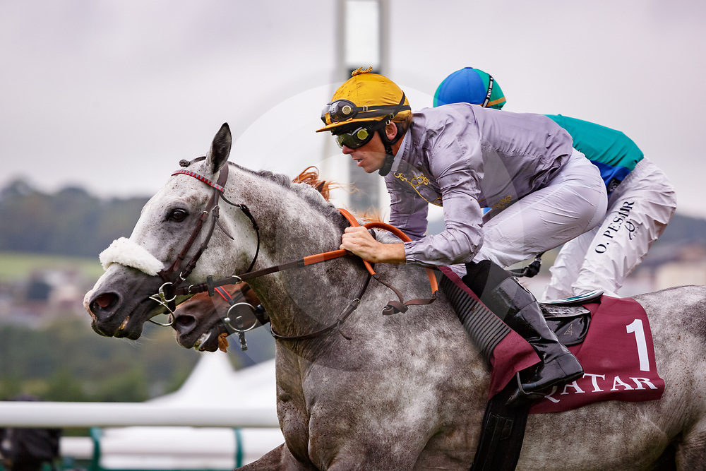 Khataab (J. Cabre) wins Doha Cup (Prix Maganate) Gr.1 PA in Deauville, France, 12/08/2017, photo: Zuzanna Lupa