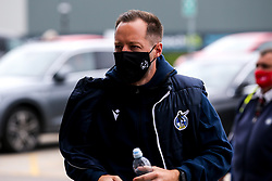 Bristol Rovers manager Ben Garner arrives at Doncaster Rovers - Mandatory by-line: Robbie Stephenson/JMP - 26/09/2020 - FOOTBALL - The Keepmoat Stadium - Doncaster, England - Doncaster Rovers v Bristol Rovers - Sky Bet League One