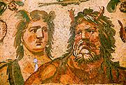 TURKEY, ROMAN CULTURE mosaic of Oceanus and Thetis