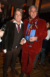 Left to right, NICKY HASLAM and PAUL BLEZARD at a party to celebrate the publication of 'Dancing into Waterloo' by Nick Foulkes held at The Westbury Hotel, Conduit Street, London on 14th December 2006.<br /><br />NON EXCLUSIVE - WORLD RIGHTS