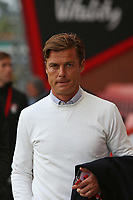 Football - 2021 / 2022 Season - Friendly - AFC Bournemouth vs. Chelsea - The Vitality Stadium<br /> <br /> Bournemouth's Manager Scott Parker arrives for his first game in charge at the Vitality Stadium (Dean Court) Bournemouth <br /> <br /> COLORSPORT/Shaun Boggust