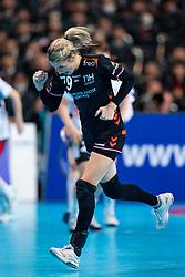 11-12-2019 JAP: Netherlands - Korea, Kumamoto<br /> Last match Main Round Group1 at 24th IHF Women's Handball World Championship, Netherlands win the last match against Korea with 36 - 24. / Estavana Polman #79 of Netherlands
