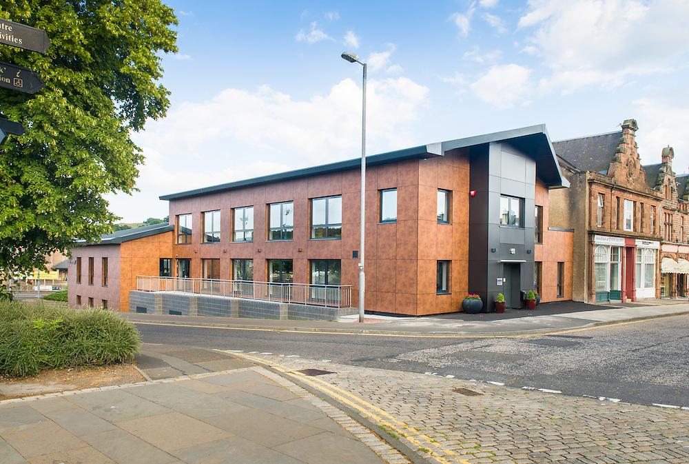 Waverley Housing's new head office on North Bridge Street, Hawick.