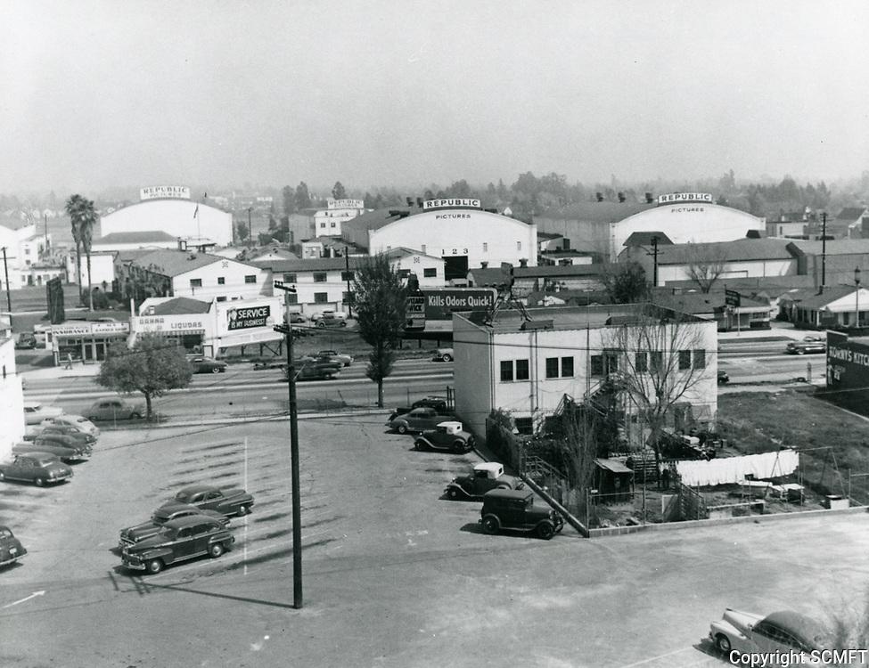 1954 Republic Studios on Ventura Blvd. in Studio City