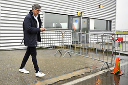 November 4, 2019, Maastricht, NETHERLANDS: Genk's head coach Felice Mazzu pictured before the departure of Belgian soccer team KRC Genk, from the airport in Maastricht, the Netherlands, towards Liverpool, United Kingdom, Monday 04 November 2019. Tomorrow Genk will play English club liverpool FC in the group stage of the UEFA Champions League. BELGA PHOTO YORICK JANSENS (Credit Image: © Yorick Jansens/Belga via ZUMA Press)