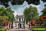 Temple Of Literature in Hanoi, Vietnam.