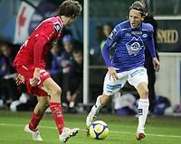 Fotball, <br /> 03.10.2010 , <br /> Tippeligaen  ,<br /> Eliteserien ,<br /> Molde - Kongsvinger 2-0 ,<br /> Aker stadion ,<br /> <br /> Emil Johansson - molde<br /> <br /> Foto: Richard brevik , Digitalsport