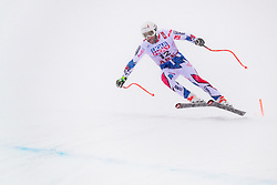 February 9, 2019 - Re, SWEDEN - 190209 Brice Roger of France competes in the downhill during the FIS Alpine World Ski Championships on February 9, 2019 in re  (Credit Image: © Daniel Stiller/Bildbyran via ZUMA Press)