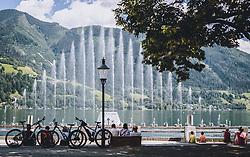 THEMENBILD - die Zeller Seezauber Wassershow, aufgenommen am 28. Juli 2020 in Zell am See, Österreich // the Zeller lake magic water show, Zell am See, Austria on 2020/07/28. EXPA Pictures © 2020, PhotoCredit: EXPA/ JFK