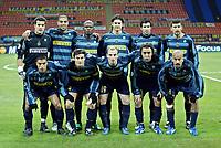 Milan 23-11-2005<br /> Inter Artmedia Bratislava <br /> Champions League 2005-2006<br /> nella  foto formzaione dell'Inter<br /> Foto Snapshot / Graffiti