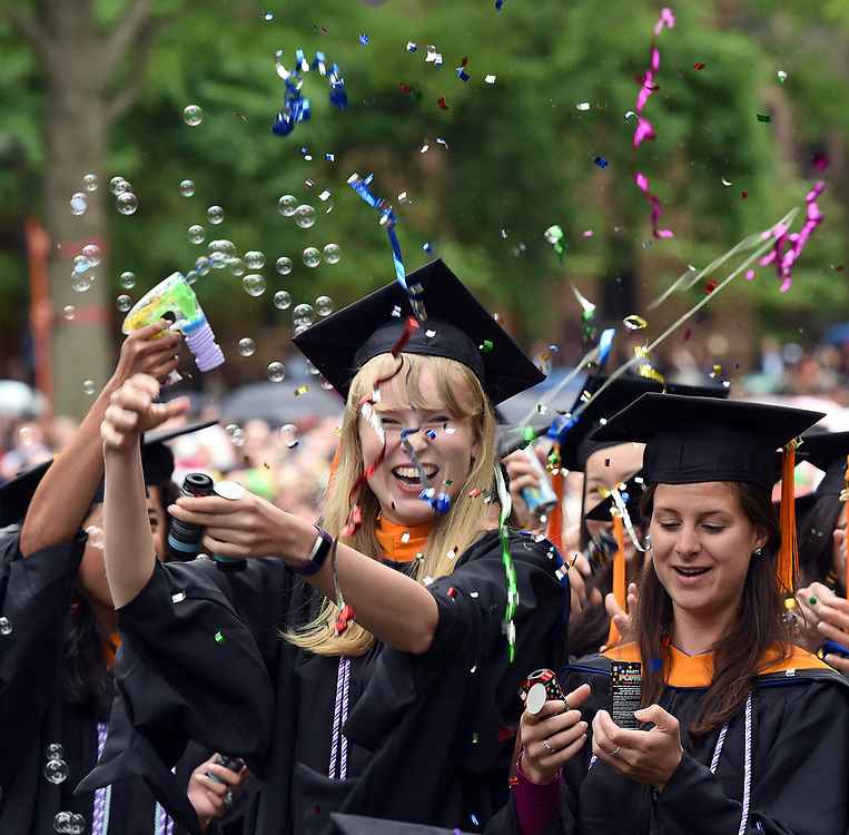 Photo by Mara Lavitt<br /> New Haven, CT<br /> May 22, 2017<br /> Scenes from the Yale University Commencement. Nursing School.