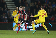 AFC Bournemouth midfielder Eunan OKane during the Capital One Cup match between Bournemouth and Liverpool at the Goldsands Stadium, Bournemouth, England on 17 December 2014.