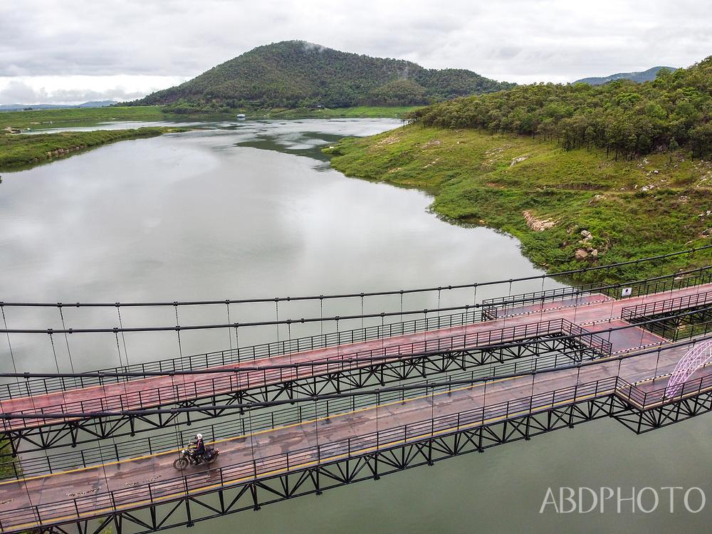 Mae Kuang dam bridge in Chiang Mai province