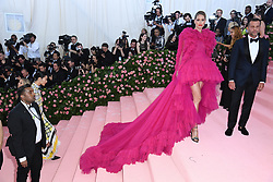 """Doutzen Kroes at the 2019 Costume Institute Benefit Gala celebrating the opening of """"Camp: Notes on Fashion"""".<br />(The Metropolitan Museum of Art, NYC)"""