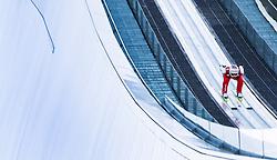 31.12.2012, Olympiaschanze, Garmisch Partenkirchen, GER, FIS Ski Sprung Weltcup, 61. Vierschanzentournee, Training, im Bild Simon Ammann (SUI) // Simon Ammann of Switzerland // during practice Jump of 61th Four Hills Tournament of FIS Ski Jumping World Cup at the Olympiaschanze, Garmisch Partenkirchen, Germany on 2012/12/31. EXPA Pictures © 2012, PhotoCredit: EXPA/ Juergen Feichter