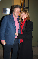 Leading garden designers JULIAN & ISABEL BANNERMAN at a party hosted American House and Garden magazine with Tomasz Starzewski and Nina Campbell to celebrate the British Issue of the magazine, held at 14 Stanhope Mews West, London SW7 on 13th March 2005.<br />