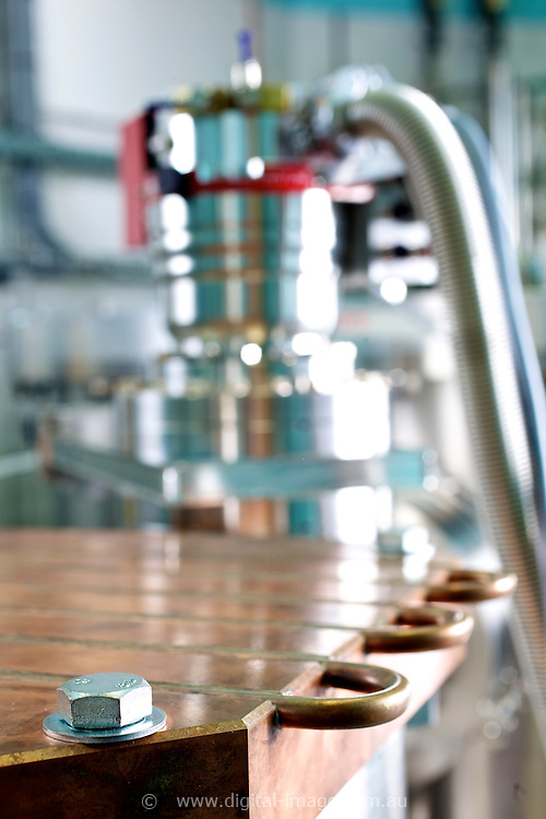 Close up detail of the Monochromator at the Australian Synchrotron