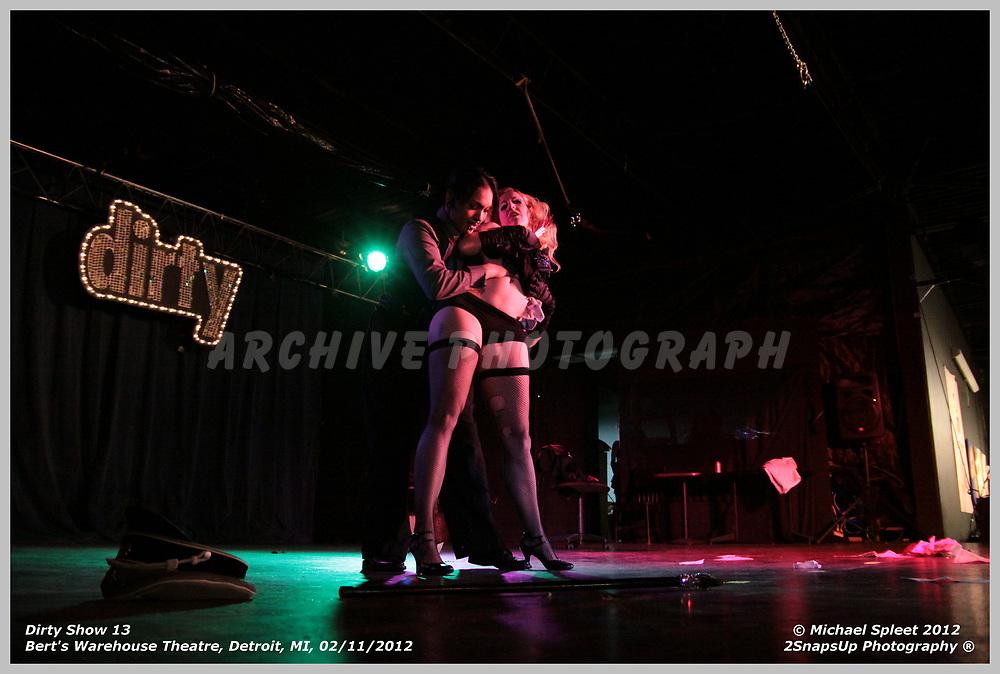 DETROIT, MI, SATURDAY, FEB. 11, 2012: Dirty Show 13, Sisters Of Sodom at Bert's Warehouse Theatre, Detroit, MI, 02/11/2012.  (Image Credit: Michael Spleet / 2SnapsUp Photography)