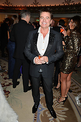 CHARLES WORTHINGTON at a birthday dinner for Claire Caudwell for family & friends held at The Dorchester, Park Lane, London on 24th January 2014.