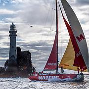 Mapfre, Sail No: ESP 0, Class: Volvo 65, Owner: Volvo Ocean Race, Sailed by Xabi Fernandez, Type: VOR 65